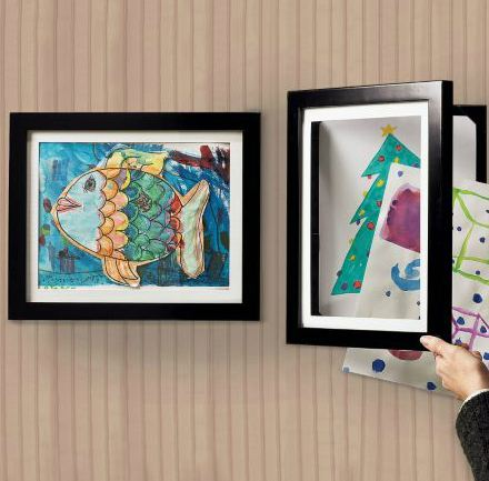 Displaying Kids Artwork at Home