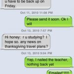 Funny iPhone Texts
