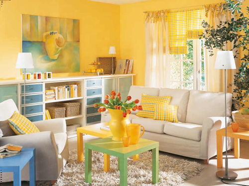 How to Brighten a Room With Yellow
