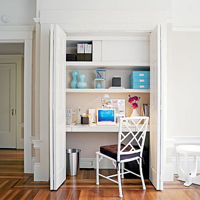Turn Your Closet Into an Office