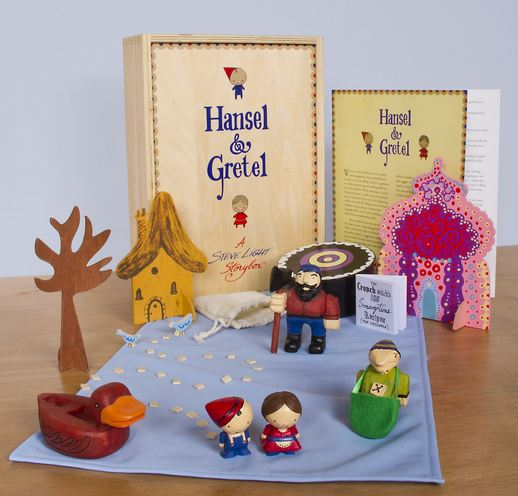 Hansel & Gretel Steve Light Storyboxes