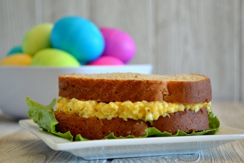 Easy Egg Salad Sandwiches