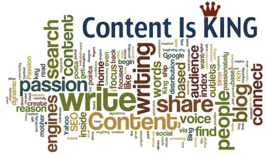 It's All About Content on Your Blog