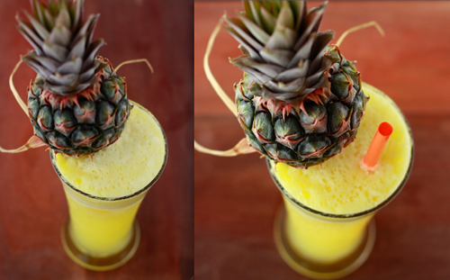 Pineapple Ginger with Rum