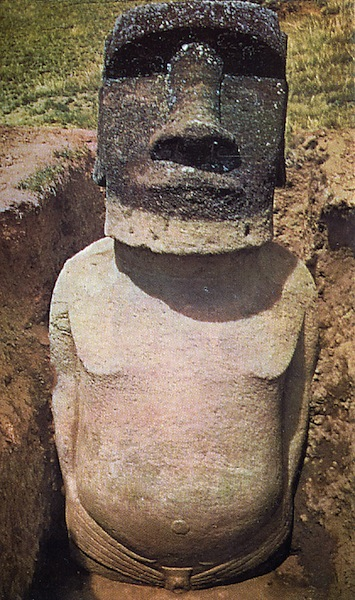 Archaeologists Excavate Easter Island's Statues
