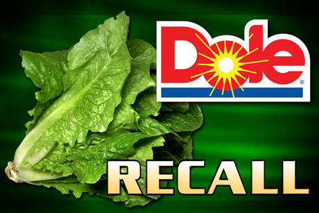 Dole Recalls Bagged Salad Because of Listeria Risk