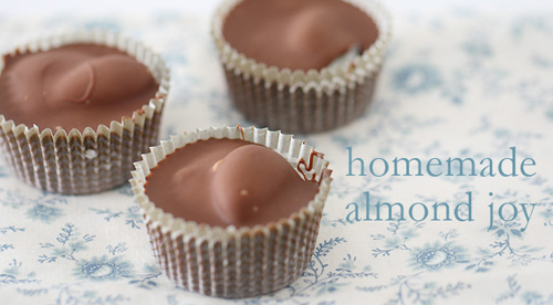 Homemade Almond Joy