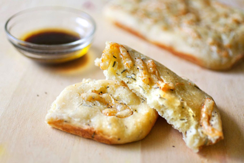 Parmesan and Rosemary Focaccia Bread