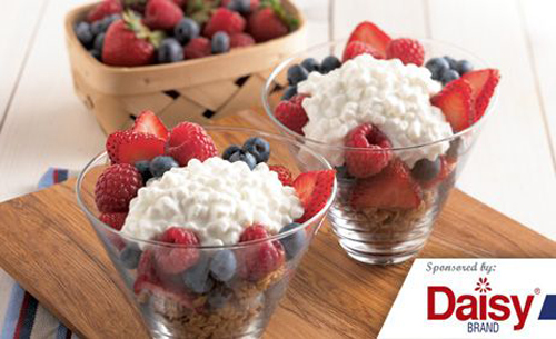 Berry Breakfast Parfaits from Daisy Brand