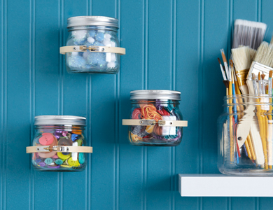 Wall-Attached Organizers