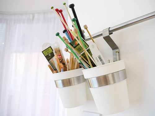 5 Creative Ways to Store Your Knitting Needles
