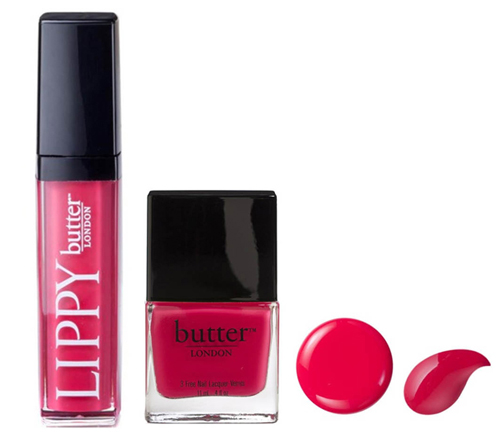 Autumn-Winter Nail Polish and Lip Gloss Colors