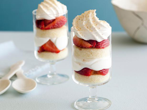 Individual Strawberry Trifles