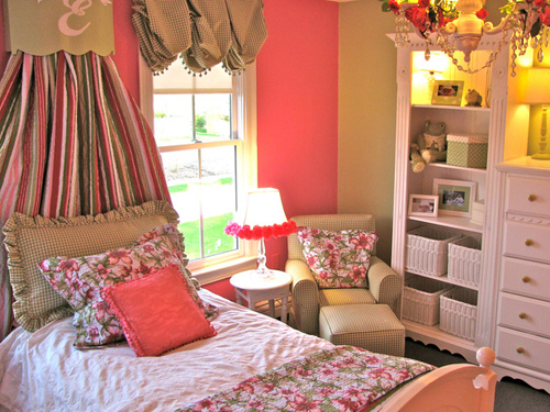 Design Ideas for Girl's Bedrooms