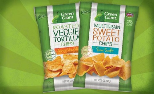 Green Giant Veggie Snack Chips