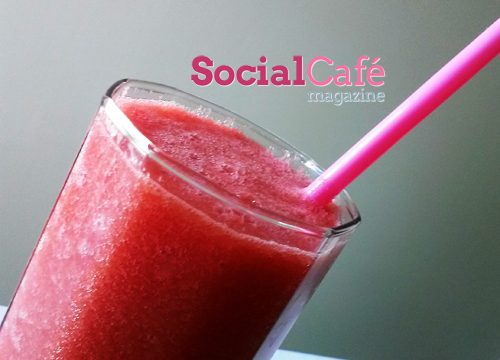 Gingery Apple Watermelon Smoothie