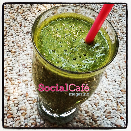 Spinach & Carrot Smoothie