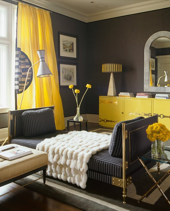 Yellow & Gray Rooms