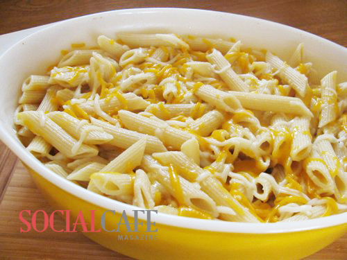 Easy Cheese Pasta Bake