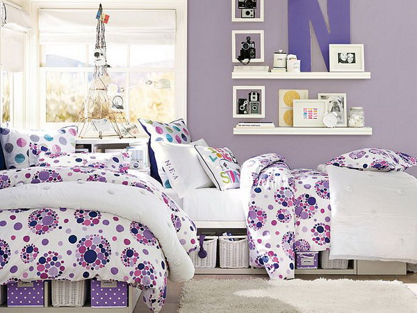 Girls Purple Bedroom Decorating Ideas