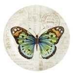 Butterfly Salad Plate