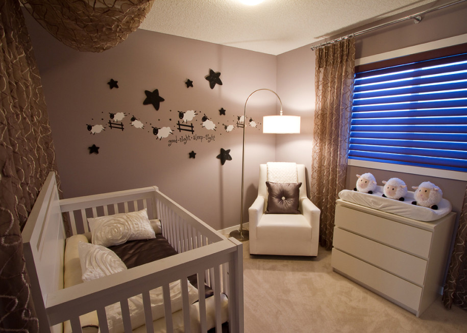 Make Their Room As Special They Are With These Beautiful Modern Baby Nursery Decorating Ideas