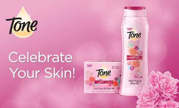 Tone Petal Soft Body Wash