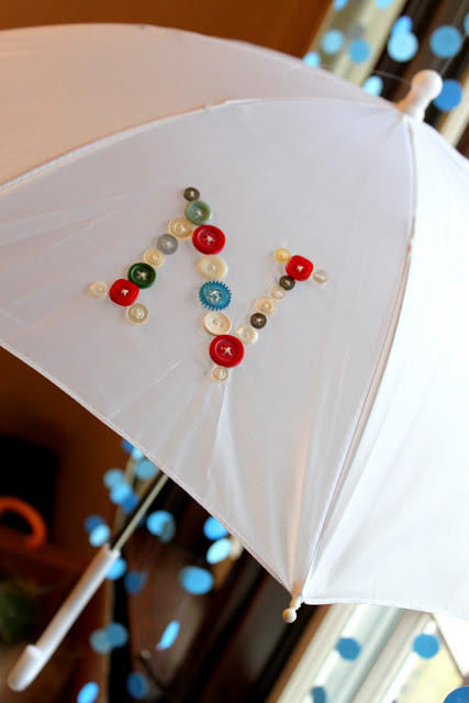 Cute as a Button Umbrellas