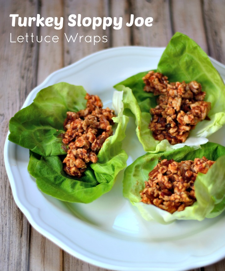 Turkey Sloppy Joes Lettuce Wraps
