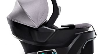 4moms Self-Installing Car Seat, Grey