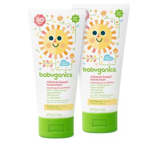Babyganics Mineral-Based Baby Sunscreen Lotion
